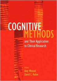 Cognitive Methods and Their Application to Clinical Research book cover
