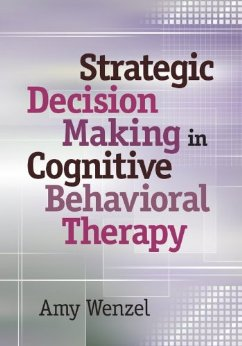 Strategic Decision Making in Cognitive Behavioral Therapy book cover