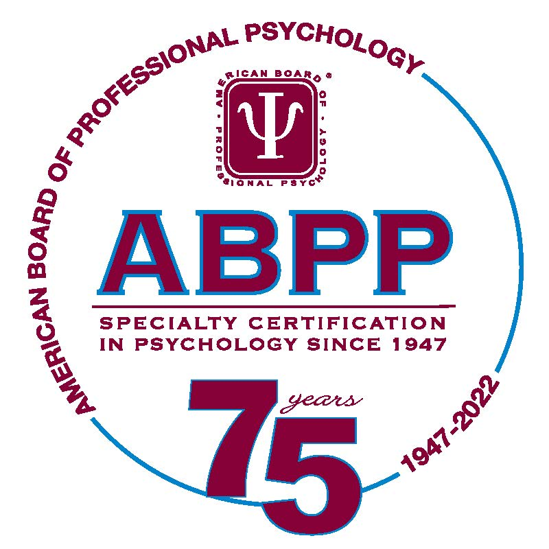 American Board of Professional Psychology. ABPP - Speciality certification in psychology since 1947