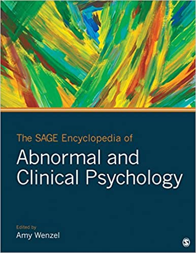 The SAGE Encyclopedia of Abnormal and Clinical Psychology book cover